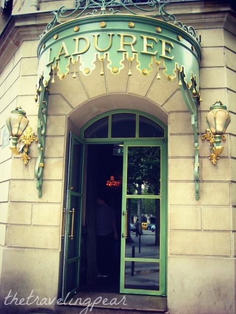 Laduree Paris Champs-Elysées