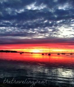 sunrise over Maine