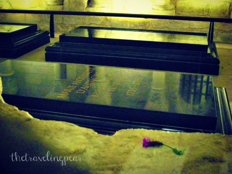 Marie Antoinette tomb