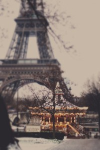 eiffel and carousel