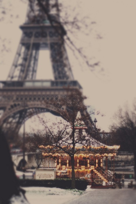eiffel and carousel