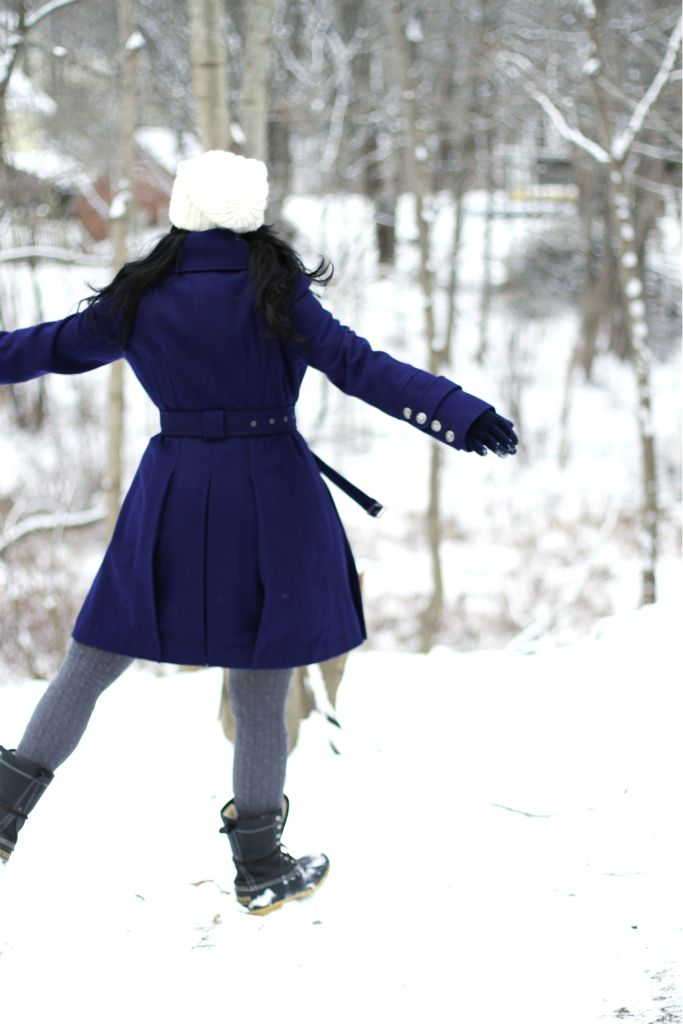 twirl in the snow