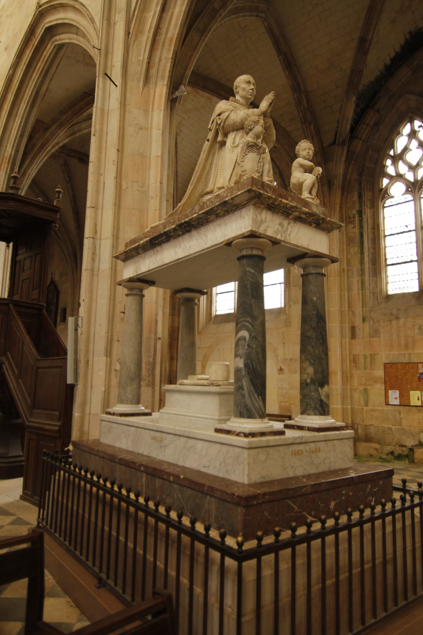 tomb of Louis XI