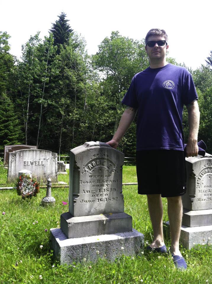 Abbie Burgess grave