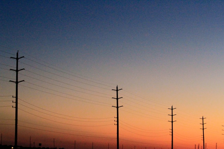 high-lines at twilight