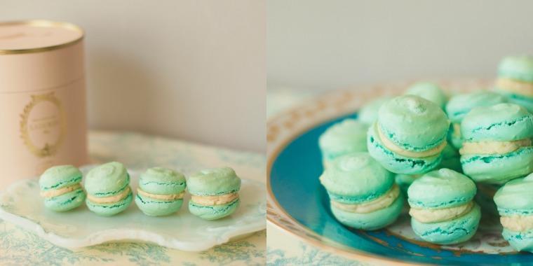 Laduree Marie Antoinette macarons