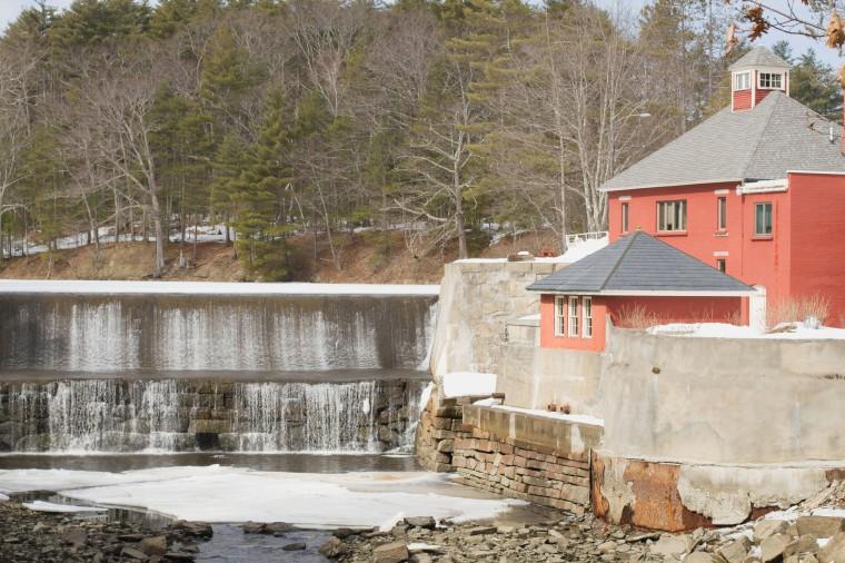 Belfast Maine waterfall