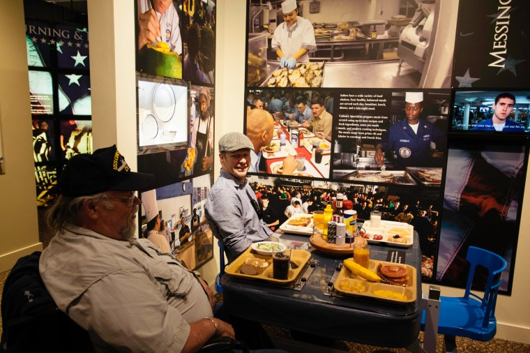 Navy Museum--many of Dad's stories are about the abundance of delish food he enjoyed aboard both ships.