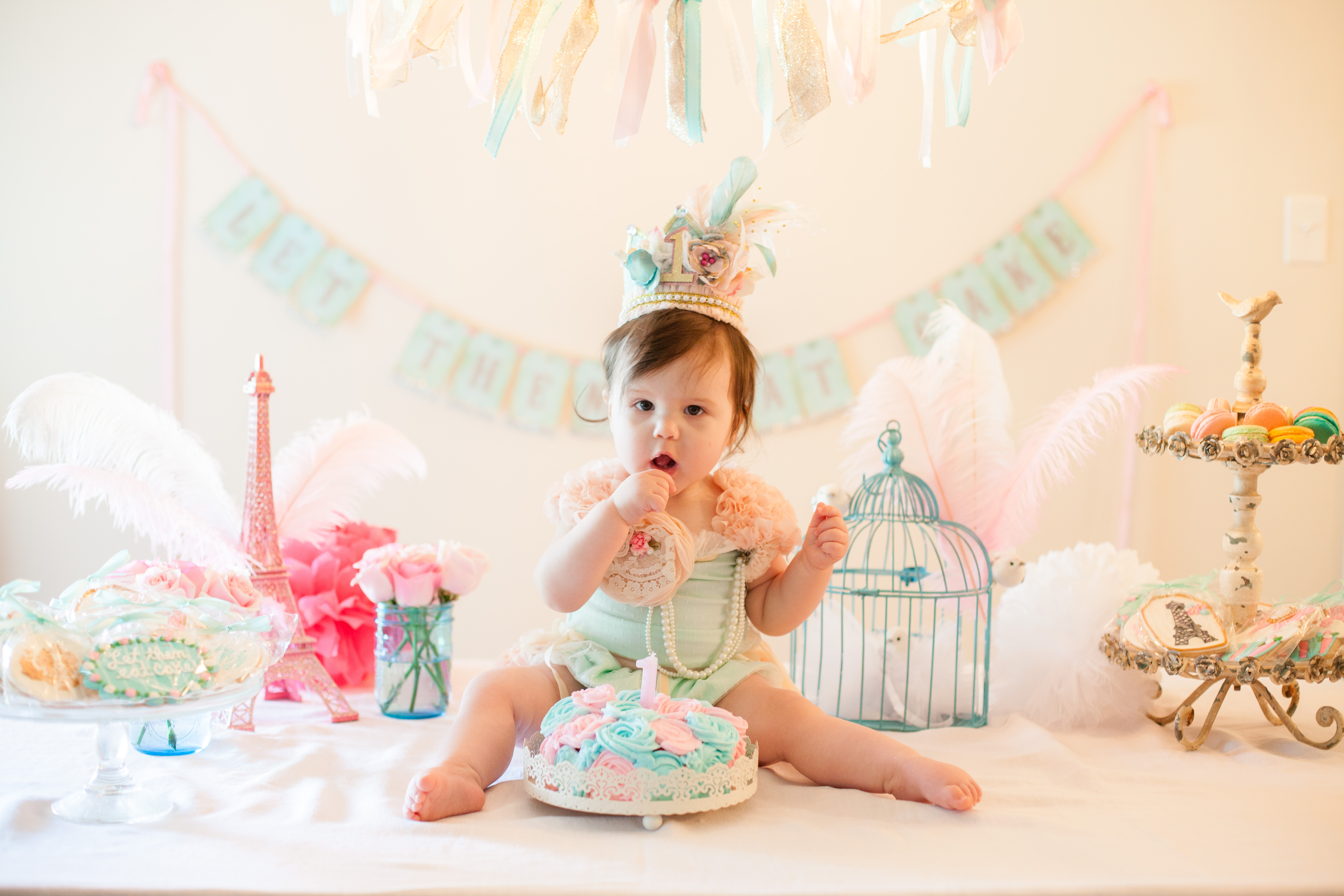 Let Them Eat Cake Baby Pear Turns 1