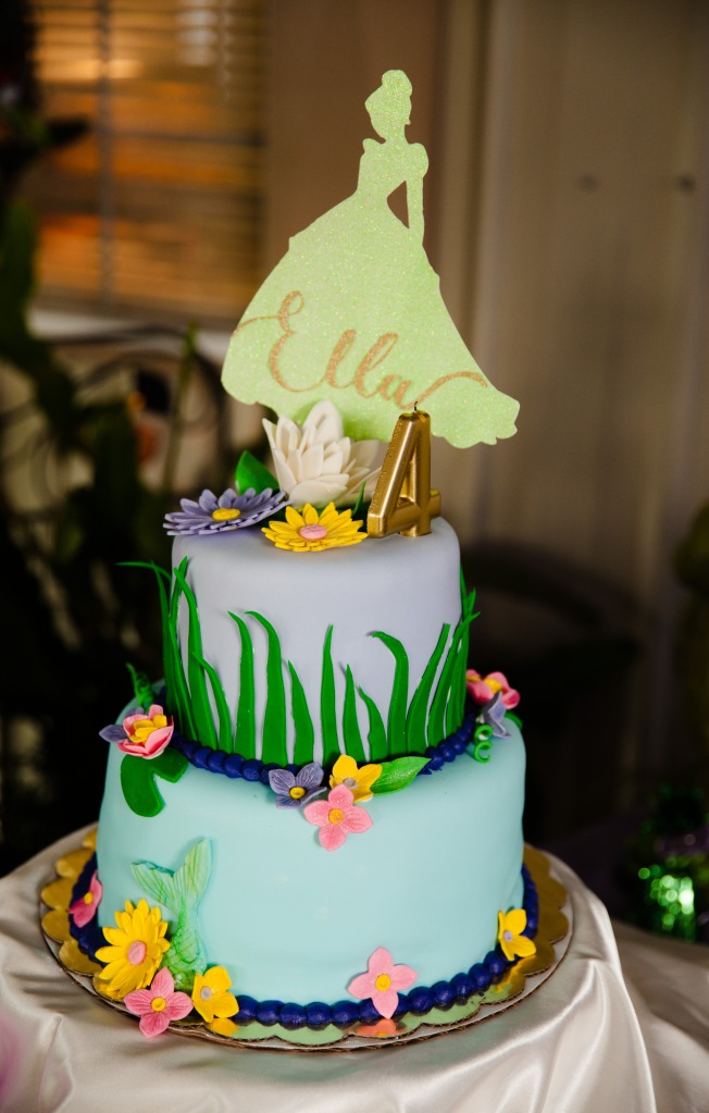 Princess and Frog Cake