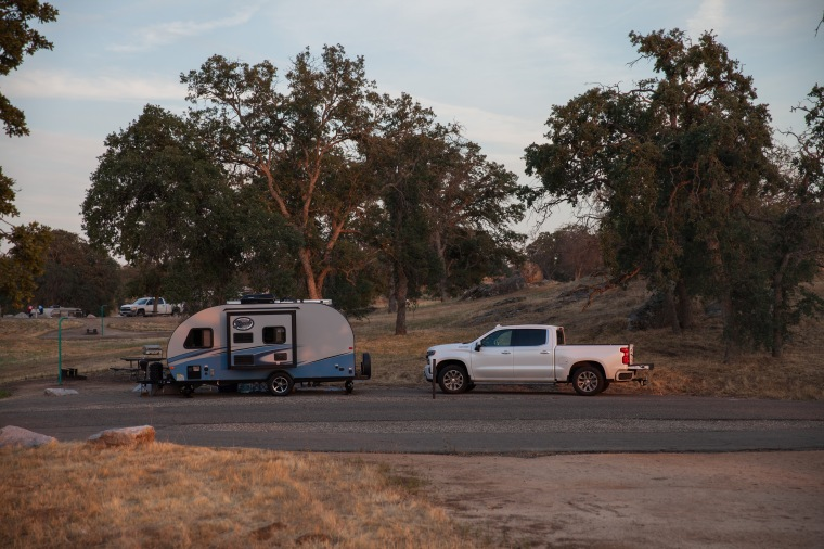 camping with rpod California